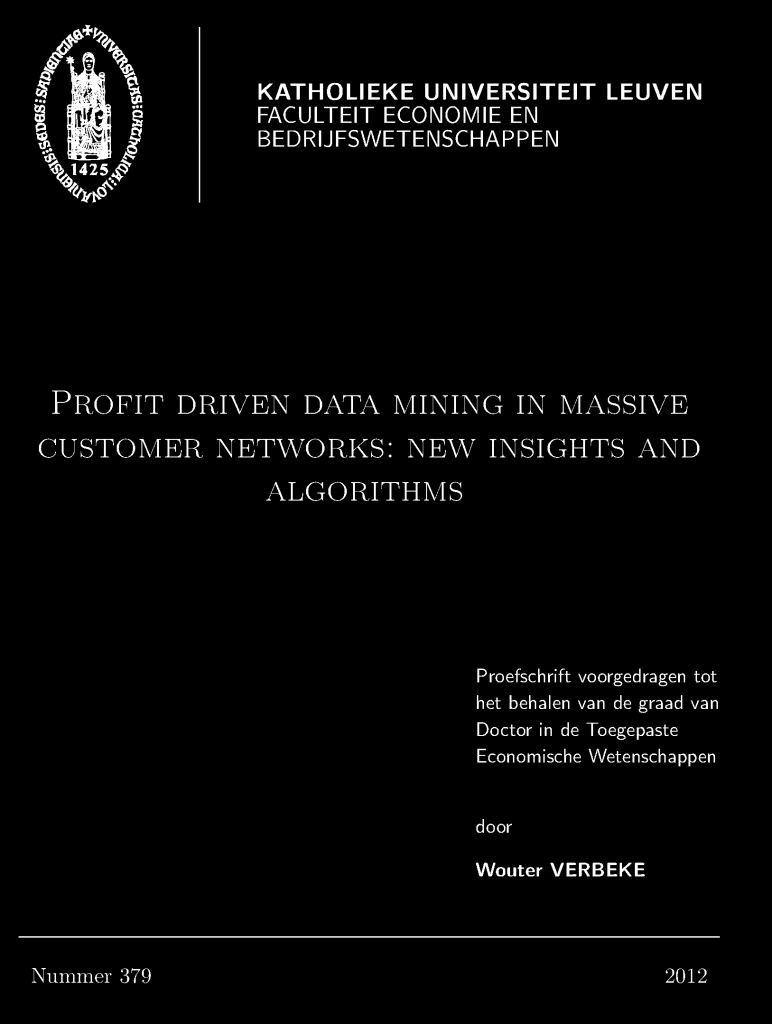 data mining management dissertation